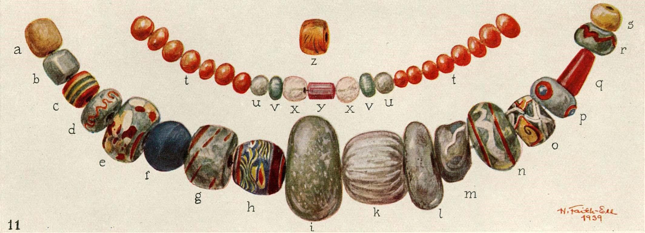 Perlen aus Birka