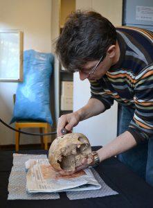 Rinnukalns skull registration work