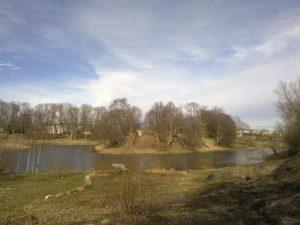 Hillfort in Grobina, Latvia