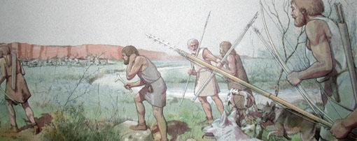 Helgoland Spätpalolithische Jäger