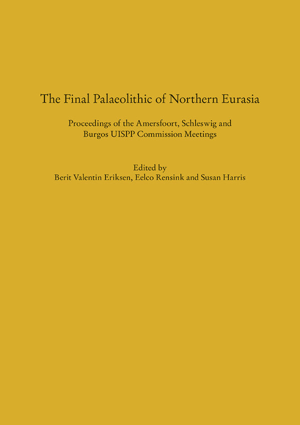 Cover The Final Palaeolithic of Northern Eurasia.